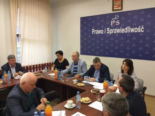 Posiedzenie Zarządu Okręgowego PiS