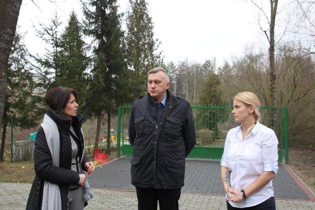 Wizyta w Sadkach