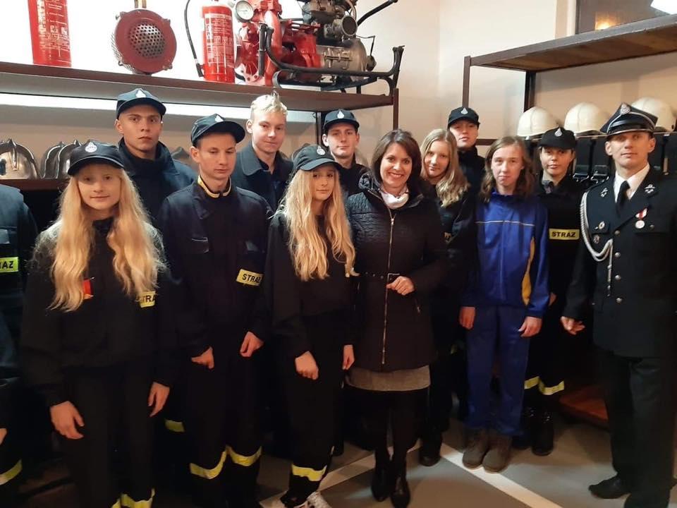 ✅Młodzieżowa Drużyna Pożarnicza OSP w Samsieczynku bi…