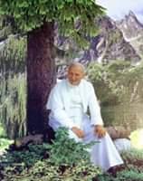❤️100 lat temu, 18 maja 1920 roku urodził się św. Jan Paweł II 🌺